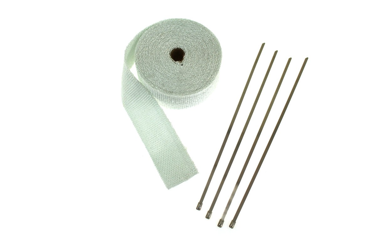 Taśma termiczna EPMAN 50mm x 1mm 10m White + opaski - GRUBYGARAGE - Sklep Tuningowy